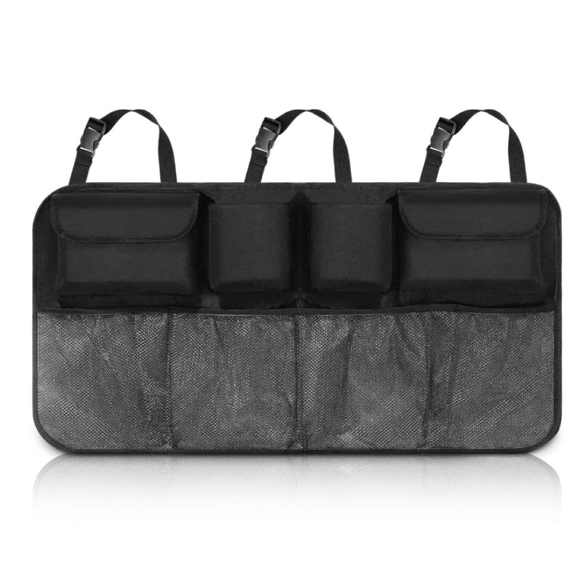 Car Boot Organiser tidy Back Seat Storage Bag Hanging Pocket Accessories Large 5060497647572  eBay